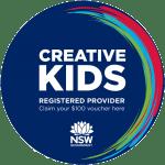 Creative Kids Voucher Logo. NSW.